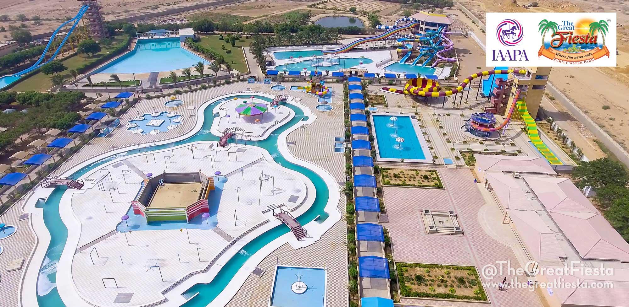 First International Standard Family Water Park in Karachi